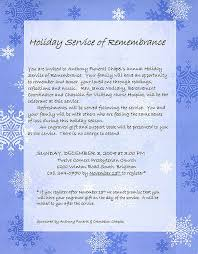 funeral service announcement wording service invitations