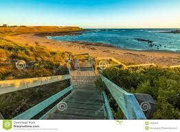 Go Down Stairs by Phillip Island Australia Stock Photo Image 53595832