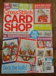 cross stitch card stories from my day a bit of