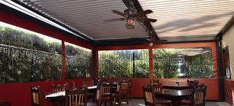 patio restaurantschiff restaurant patio enclosures porch enclosure systems