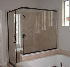 tub with glass shower door glass shower door frameless shower door bottom sweep with drip