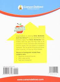 amazon com phonics for kindergarten grade k home workbook