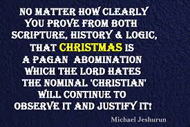 my christianity and christmas