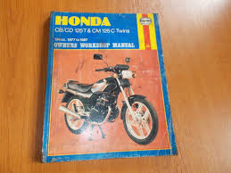 haynes honda cb cd125t u0026 cm125c twins workshop manual u2022 12 99