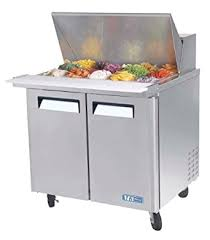 36 inch sandwich prep table amazon com turbo air mst 36 15 refrigerated prep table 15 pan two