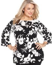 jm collection plus size paisley print tunic tops plus sizes