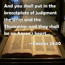 aaron s breastplate exodus 28 30 and you shall put in the breastplate of judgment the