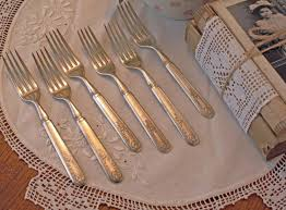 Flatware Sets by 6 Forks Antique Flatware Set 1847 Rogers Bros Meridian Old Colony