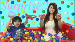 barbie cars from the 90s surprise toys giant ball pit challenge with ryan toysreview youtube