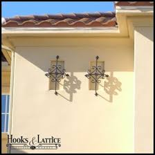 faux exterior iron wall grills faux vent covers and wall guards