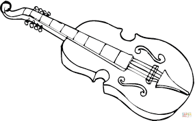 viola coloring page free printable coloring pages