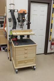 Fine Woodworking Drill Press Review by Drill Press Storage Unit Table U0026 Fence Diy Pinterest Drill