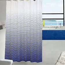 72 X 78 Fabric Shower Curtain Ufaitheart Fashion Stripe Shower Curtain Fabric Shower