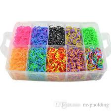 diy bracelet rubber bands images 2018 30000 unids diy rainbow loom color rubber band bracelet gift jpg