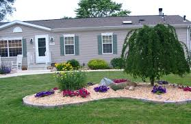 Mobile Home Yard Design | landscaping ideas for mobile homes mobile home living