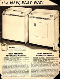 sears catalog kenmore 1950 vintage appliance advertisements