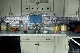 tin backsplashes for kitchens kitchen amazing tin tiles for backsplash in kitchen tin