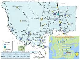 Florida State Parks Map by Map Locator