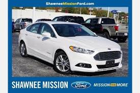 ford fusion used for sale used ford fusion hybrid for sale in kansas city mo edmunds