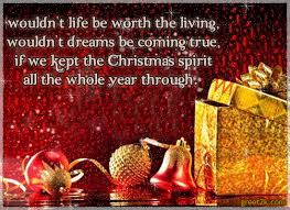 christmas spirit poem by broken wings
