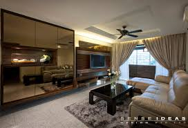 Singapore Homes So Beautiful You Wont Believe Theyre HDB - Living room design singapore