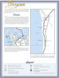 Astoria Oregon Map by Oregon Coast Bike Route Maplets