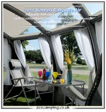 Kampa Caravan Awnings New 2015 Kampa Rally Ace 400 Air Pro 390 Caravan Porch Awning Grey