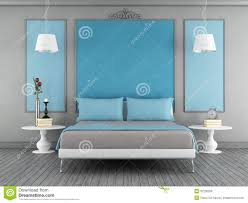 Contemporary Blue Bedroom - bedroomsurprising photo of on property ideas modern blue master