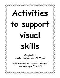 4 best images of visual memory worksheets printable visual
