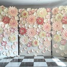 flower backdrop planning a wedding or any other special event paper flower