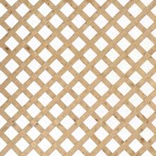 wood lattice wall shop severe weather common 1 2 in x 48 in x 8 ft actual 0 5 in
