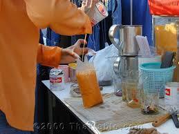 cara membuat thai tea latte thai tea recipe thaitable com
