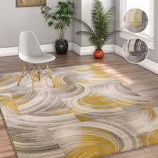 Gold Area Rugs Well Woven Geometric Modern Grey Gold Area Rug 5 3 X 7 3 Free