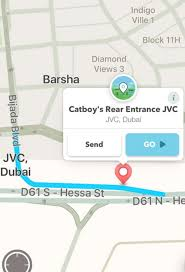 Waze Map The Waze Map Has Renamed The New Road In Jvc