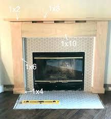 build fireplace mantel shelf how to build a fireplace mantel best fireplace mantel ideas on mantle