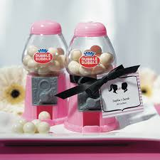 gumball party favors classic mini pink gumball machine party favors