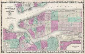 The Map Of New York by File 1862 Johnson Map Of New York City And Brooklyn Geographicus
