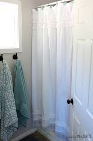 how to fix a shower curtain that is too short making manzanita
