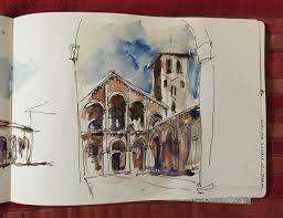 urban sketching in milan liz steel liz steel