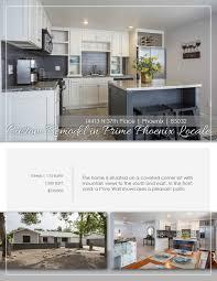 Home Design 85032 by Brochures U0026 Flyers Real Estate Marketing Scottsdale Az