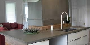 cuisine en beton comptoirs en béton pour cuisine ou salle de bain