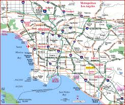 los angeles map pdf los angeles road map pdf indiana map