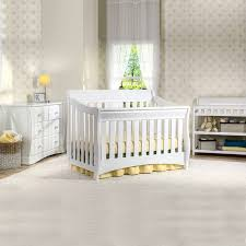 White Convertible Crib With Changing Table by Delta Bentley 3 Piece Nursery Set Convertible Crib Changing