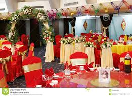 decoration in wedding banquet stock images image 10998434