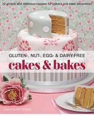 gluten dairy free vegan wedding cake decorating book
