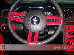 Pink And Black Mustang Ford Mustang 2005 2009 Dash Kits Diy Dash Trim Kit