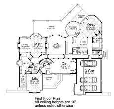 million dollar homes floor plans european french home with 4 bedrooms house plan 106 1167 tpc