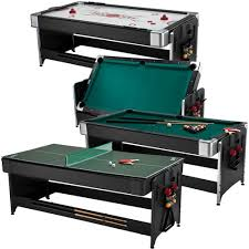 triumph 4 in 1 game table air hockey air hockey tables hockey tables combo game tables