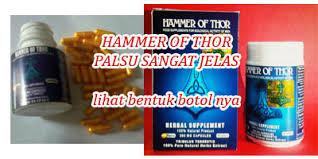 ciri ciri hammer of thor asli bagaimana cara mengetahuinya