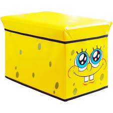 spongebob squarepants kids u0027 storage ottoman walmart com
